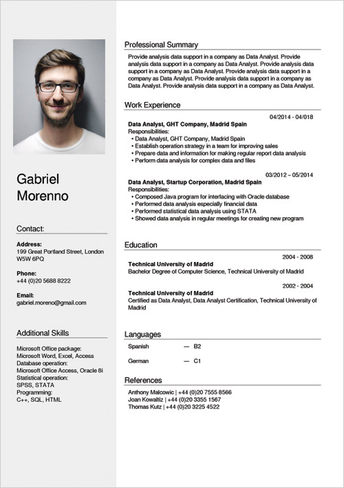 cv resume builder creator online free